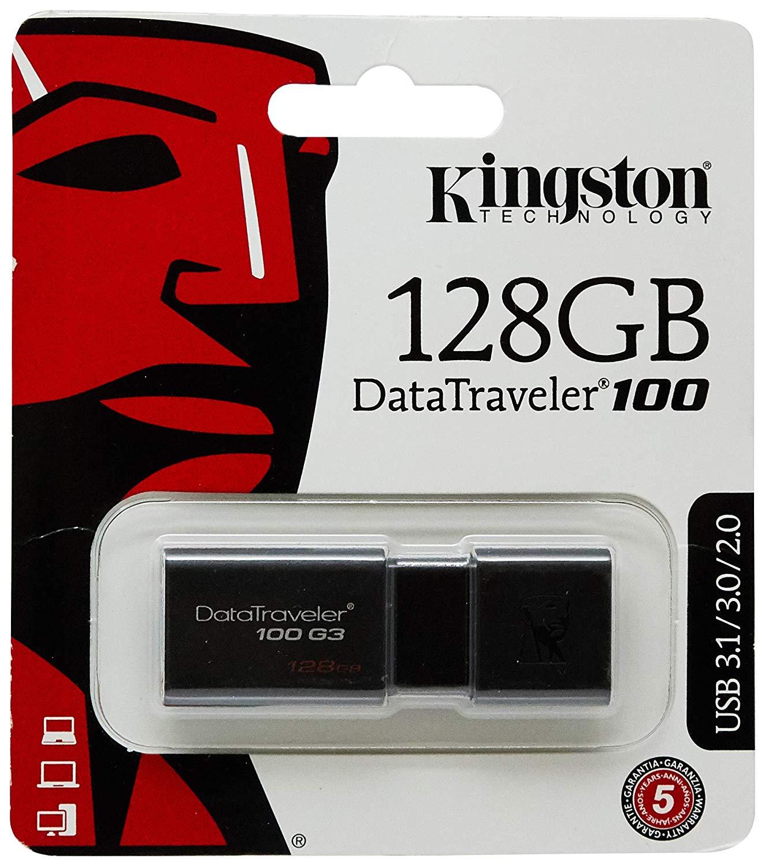 USB Kingston 128GB DT100 G3