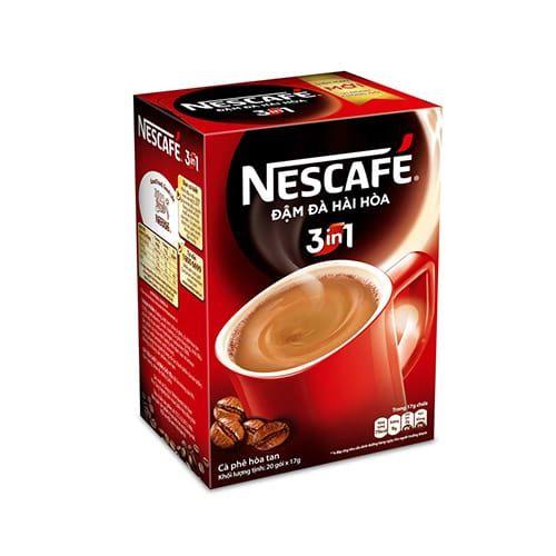Nescafé Cà Phê Sữa Đá 3in1 (20g / Gói) màu đỏ