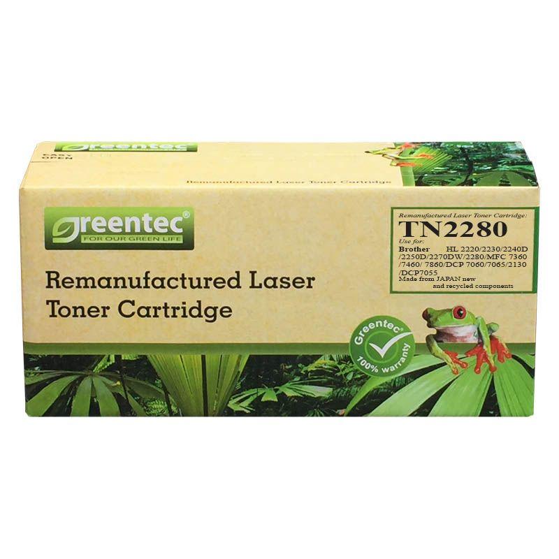 Mực in laser đen trắng Greentec Brother TN2280