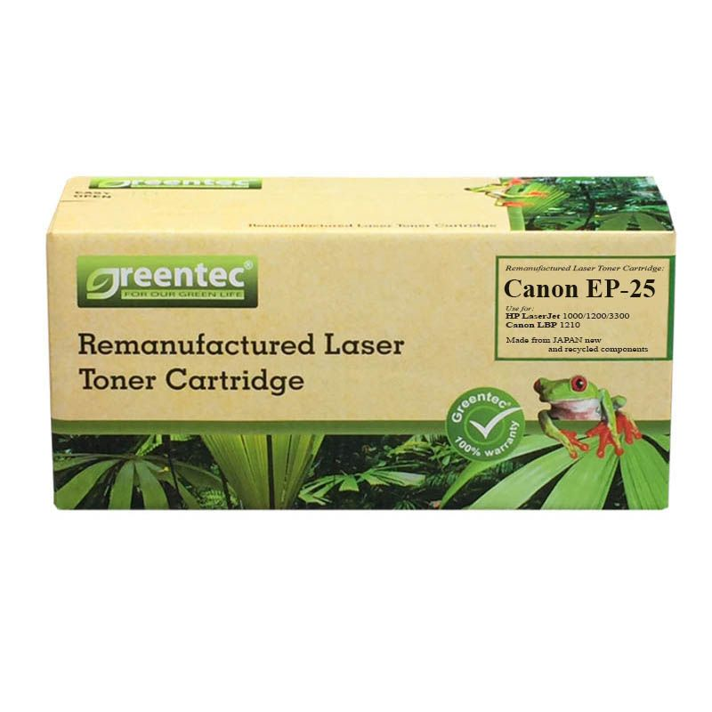 Mực in laser đen trắng Greentec Canon EP-25