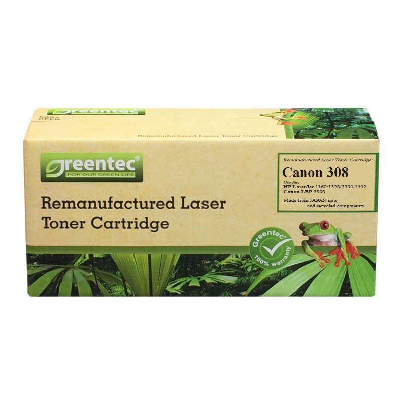Mực in laser đen trắng Greentec Canon 308