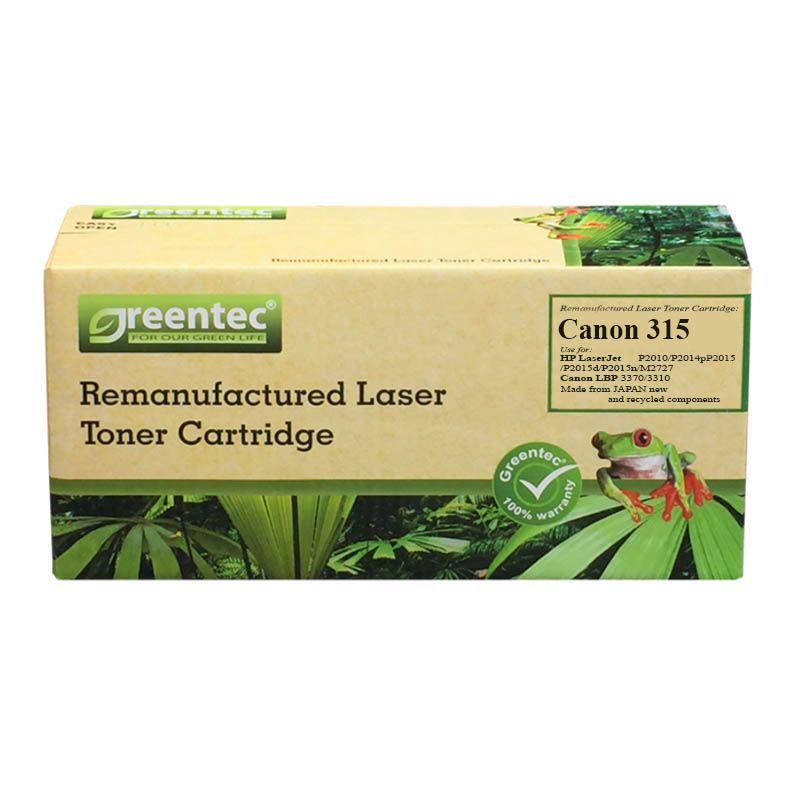 Mực in laser đen trắng Greentec Canon 315
