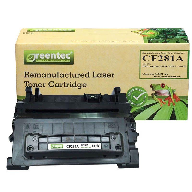 Mực in laser đen trắng Greentec HP 81A (CF281A)
